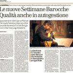 Articolo su Bresciaoggi